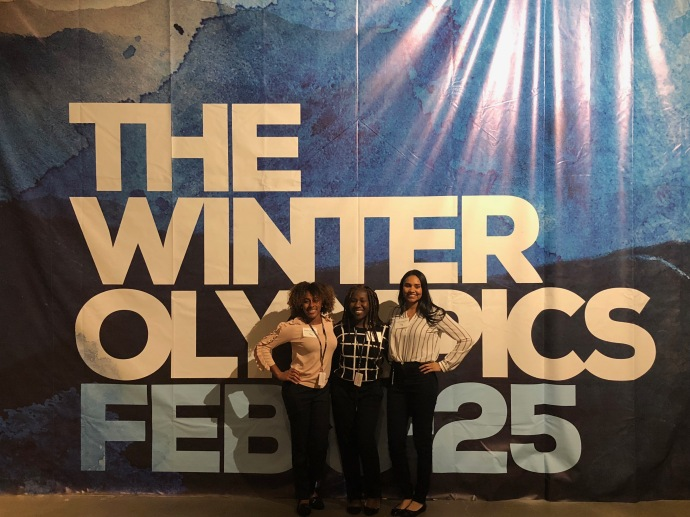 Howard University Winter Olympics Interns
