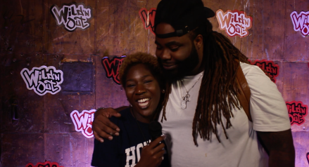 Kyra and Wild'N Out cast member and comedian Darren Bland