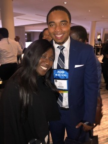 NABJ Student Rep and GSUABJ Chapter President, Tony Benton Jr.