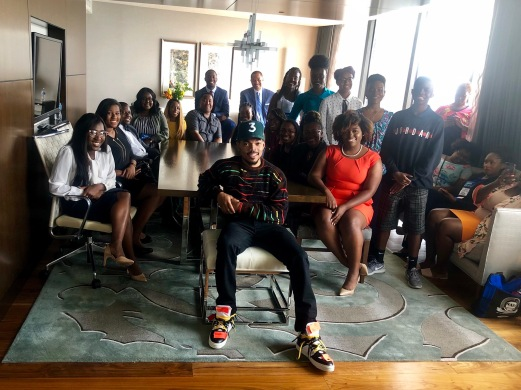 Chance the Rapper, Kyra E. Azore, Student Projects and JSHOP participants