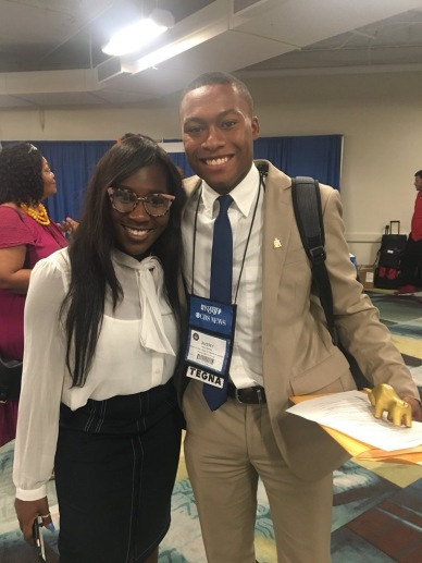 NABJ Student Rep and recent graduate Avery Braxton