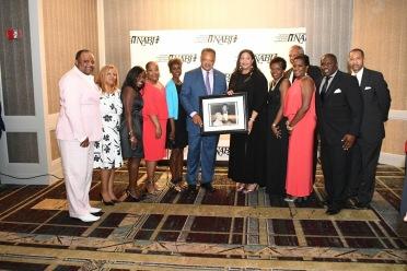 2017-2018 NABJ Board of Directors and Rev. Jesse L. Jackson Sr.