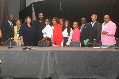 NABJ Board of Directors and Tyler Perry